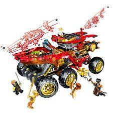 Ninjago Land Bounty 70677 Truck 858 Pcs Building Block with Ninja Minifigures