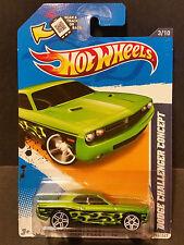 2012 Hot Wheels #153 Heart Fleet '12 3/10 - Dodge Challenger Concept