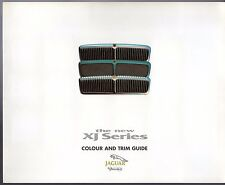 JAGUAR XJ x300 COLORI E FINITURE 1994-95 UK Mercato Opuscolo SOVRANO SPORT XJR xj6