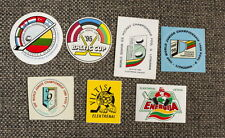 ICE HOCKEY 7 Stickers LOT Lithuania World Championship Baltic Cup 1995-1999