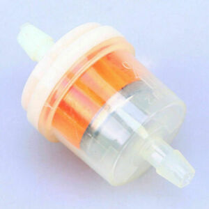 Fuel Filter 1/4'' 6mm In/Out Gas Oil Filter For Suzuki Katana 600 GSX600F Bike