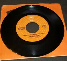 Charlie Rich - America, The Beautiful / Down By The Riverside ORIGINAL 45 EXCEL