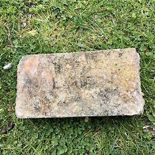 Antique Reclaimed Fire Brick Stamped Alamo Incised Early 1900s Texas Nice