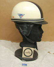 Vintage NOS Motorcycle Half Shell Helmet Dixie Vepo Made Italy Size 7 Buco Bell