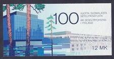 Finland 706 MNH 1985 Finnish Banknote Centennial Full Booklet Very Fine