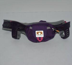 Nathan Hydration Running Belt Trail Mix Adjustable Belt Purple