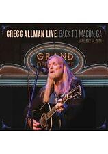 Gregg Allman Live Back to Macon, GA [DVD]