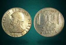 ALBANIA 1939 COIN - 2 LEK MAGNETIC - ITALY OCCUPATION - 103