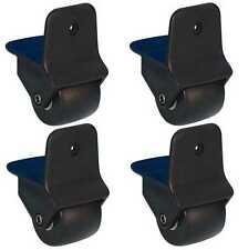 4 Stück 50 mm Kantenaufbaurolle, Kanten-Aufbaurolle Trollyrollen Trollirollen