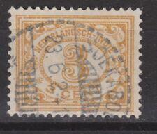 Nederlands Indie Netherlands Indies 105 TOP CANCEL SOEKABOEMI Cijfer 1912