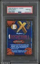 1996-97 Skybox E-X2000 Basketball Unopened Foil Pack PSA 10 Kobe Bryant RC Yr