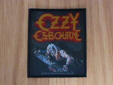 OZZY OSBOURNE - BARK AT THE MOON (NEW) SEW ON W-PATCH OFFICIAL BAND MERCHANDISE