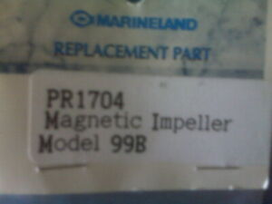 Marineland 99B Magnetic Impeller Assembly For Eclipse 6 or Penguin 99 Filter New