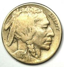 """1926-S Buffalo Nickel 5C Coin - VF / XF Details - Scarce Date """"S"""" Mint Coin!"""