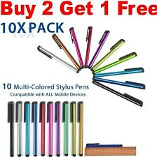10 x Universal mini Metal Stylus Touch Screen Pen for iPhone 3G 4 4S 5 iPod iPad
