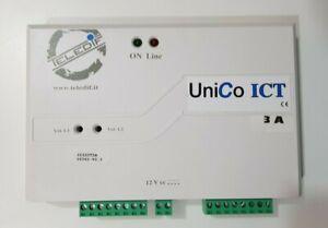 Interfaccia Citofonica Analogica Teledif UNICO ICT 3A per Interno Analogico