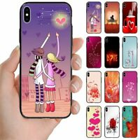 For Samsung Galaxy Series Valentine's Love Theme Mobile Phone Back Case Cover #2