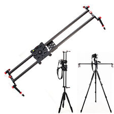 Universal Camera DSLR Carbon Fiber Slider Dolly Track Video Stabilizer Rail 80cm