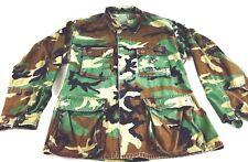 Vintage Military Jacket Marines Camouflage USMC United States Marine core Med R