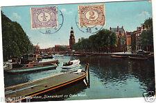 Pays-Bas -  AMSTERDAM - Binnenkant en Onde Waal (H5447)