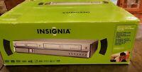 NEW INSIGNIA Multiformat DVD Recorder VCR VHS HiFi Combo player Transfer VHS DVD