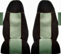 VOLVO FH4 EURO6 TRUCK SEAT COVERS GREEN/BLACK[TRUCK PARTS & ACCESSORIES]