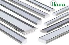 LED Aluprofil Aluminiumprofil Alu Profil Helitec Komplettset für LED Strips TOP!