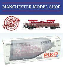 Piko 54477 HO 1:87 Stake truck Rungenwagen Klm441 & 2 Lemken Plough load BOXED