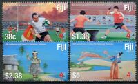 Fiji Sports Stamps 2020 MNH Diplomatic Relations China Table Tennis Rugby 4v Set