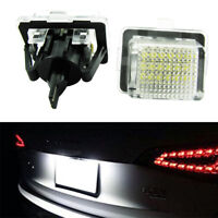 For Mercedes Benz W204 W204 5D wagon W212 C216 C207 W221 Led License Plate Light