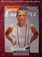 ESQUIRE Magazine July 2004 LANCE ARMSTRONG SURVIVAL ++
