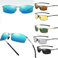 Photochromic Sunglasses Men Polarized Chameleon Aluminium HD Driving Sun Glasses