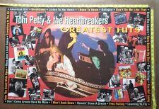 """TOM PETTY Poster,24x36"""",RARE Original,Record Company promo,Greatest Hits"""