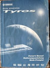 Yamaha Tyros Digital Workstation Keyboard Original Owner's Manual Large Book