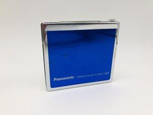 MD1237 Excellent  Panasonic PORTABLE MD PLAYER SJ-MJ50  Blue