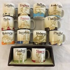 More details for 13 x starbucks espresso cups joblotspain-france-london brand new-never used