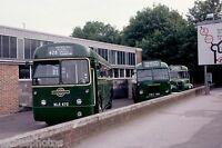 London Transport RF672 Leatherhead Garage 1981 Bus Photo