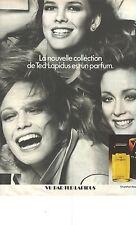 """PUBLICITE 1976  TED LAPIDUS la nouvelle collection """"VU"""" par toutes"""