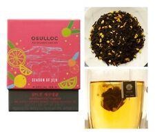 [OSULLOC] Samdayeon Jeju Tangerine Oolong Tea  ( 10 Pyramid Tea Bags )