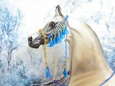 HW247 - LSQ Braided Arabian Halter for a Peter Stone, similar size Model Horses
