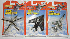 Matchbox Military Sky Busters Russian Helicopter, Mirage F1, F-117A Stealth NIP