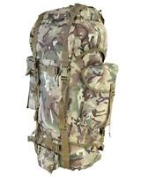 BRITISH ARMY STYLE ASSAULT PACK BACKPACK RUCKSACK MTP MULTICAM CAMO 60 LITRE