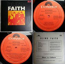 BLIND FAITH DEBUT 1970 STEREO UNIQ CVR & BCK CVR SPANISH TEXT RARE CHILEAN PRESS
