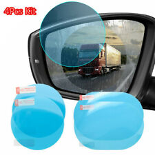 4Pcs Car Rear View Mirror Film Anti Glare Anti Fog Rainproof Waterproof Membrane