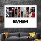 EMINEM Album Cover Collection Paper Posters or Canvas Framed Wall Art