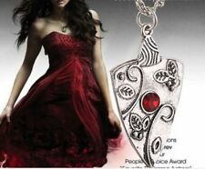 Women Silver Antique Vampire Diaries Bonnie Bennett Chain Pendant Necklace Gifts