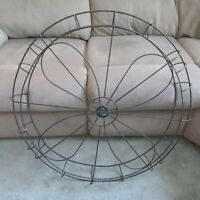 "VINTAGE EMERSON ELECTRIC ST. LOUIS MISSOURI 32"" FAN CAGE!"