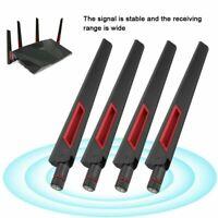 4X 8dBi Dual Band Wireless WiFi Router Antenna RP-SMA For ASUS AC68U AC88U AC66U