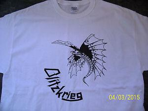 Blitzkrieg - T Shirt. NWOBHM. Metallica.The Boys From Brazil Street. Last copies