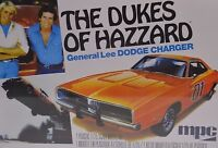 DODGE CHARGER GENERAL LEE DUKES HAZZARD MPC 706 1:25 PLASTIC KIT INCL FLAG DECAL